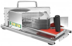 HT4 Manual vegetable cutter in 4 mm stainless steel