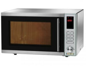 MC2452 Stainless steel microwave oven with convection, grill and digital controls