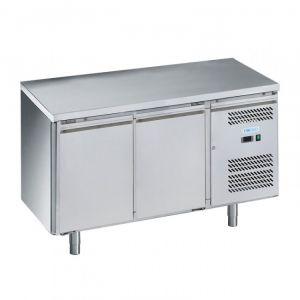 G-PA2200TN-FC Table réfrigérée pour pâtisserie - 2 portes - Temp -2 ° + 8 ° C - Capacité Lt 390