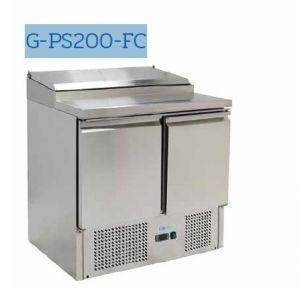 G-PS200-FC Saladette réfrigérée - Température + 2 ° / + 8 ° C - Capacité 240 litres