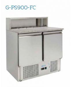 G-PS900-FC Saladette refrigerata  - Temperatura +2°/+8°C - N. 2 porte - Capacità litri 240