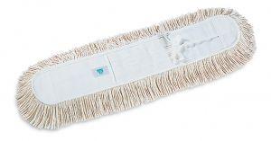 00000254 Frange de coton avec lacets - Blanc - 100 cm