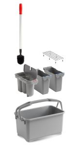 00003260K52 Eroy Bucket E-02 - Gray - Without Wheels