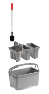 00003260K53 Eroy Bucket E-03 - Gray - Without Wheels
