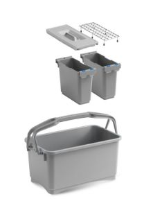 00003260K55 Eroy Bucket E-05 - Gray - Without Wheels