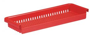 00003556 PERFORATED GRILL FOR BATH - RED