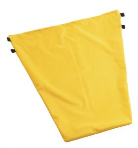 00003617 Sack 50 L PVC - Yellow - dimensions: 62x65 Cm