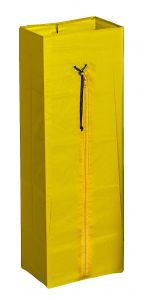00003682 PLASTICIZED BAG 70 L WITH ZIP - YELLOW