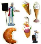 Promozione figure pubblicitarie tridimensionali